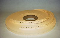 """0.018"""" Thick x 0.710"""" Wide Indexed Radial Punch Paper"""